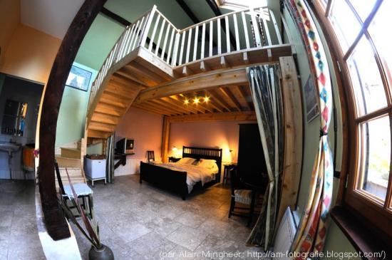 chambre et mezzanine
